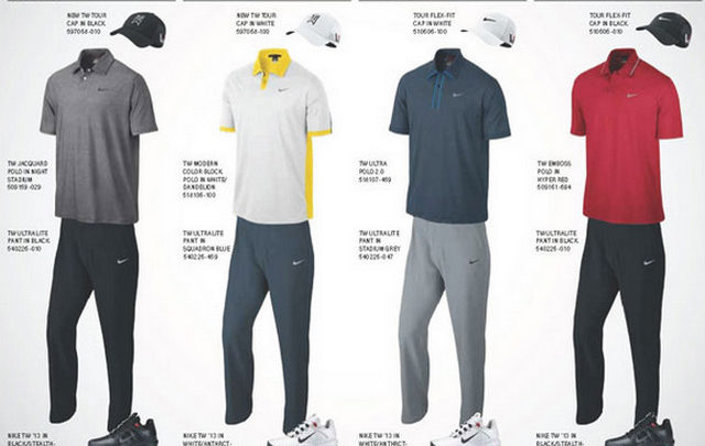 Tiger Woods by Nike