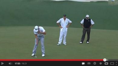 Photo of Vídeo del playoff del Masters 2013, entre Adam Scott y Ángel Cabrera
