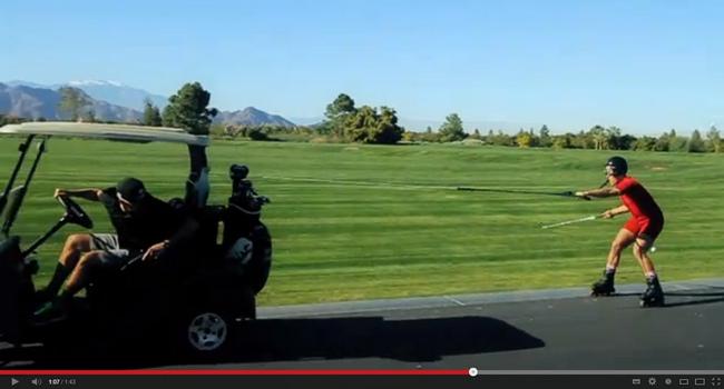 Juego lento golf cáncer