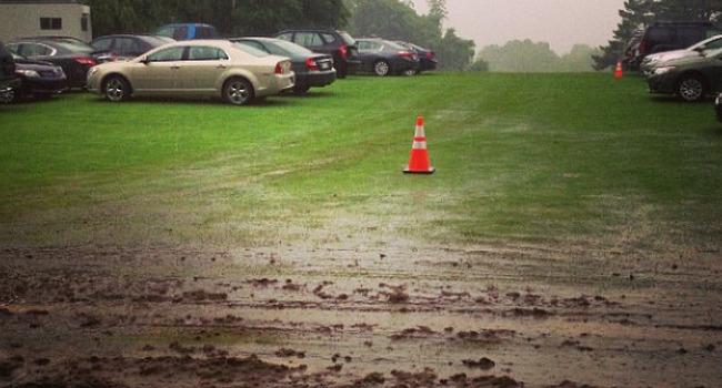 Parking Merion Golf Club