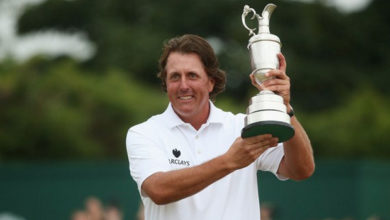 Photo of Sir Phil Mickelson gana el Open