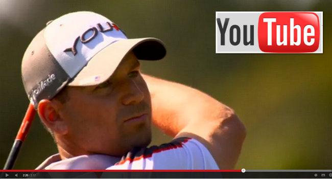 golf en directo vía youtube