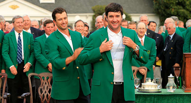 Masters 2014 Chaqueta Verde Bubba Watson Golf