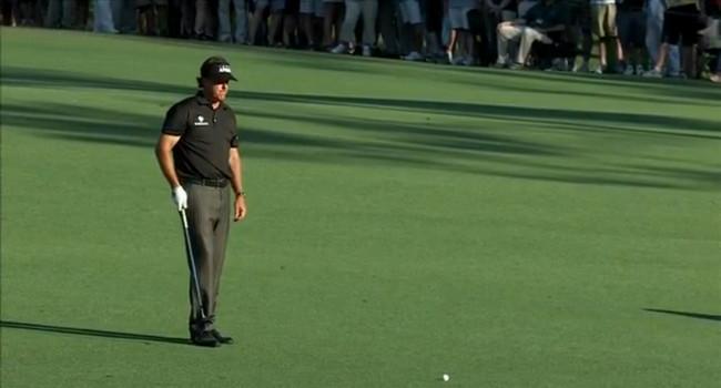 Phil Mickelson - Primera Jornada Masters 2014 - Golf
