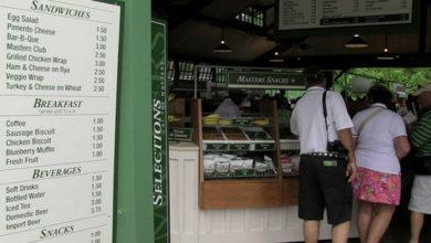 Photo of Los precios de la comida en el Masters