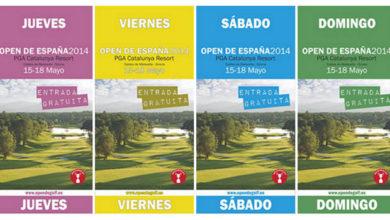 Photo of Entradas gratis para el Open de España 2014 en el PGA Cataluña