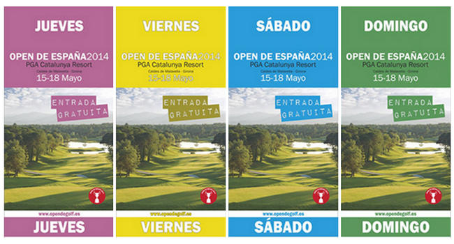 Entradas gratis Open de España 2014 - PGA Cataluña - golf