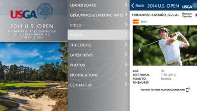 Photo of Aplicación oficial del U.S. Open 2014 para iPhone y teléfonos Android