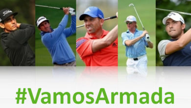 Photo of Españoles en el Open Championship 2014 #VamosArmada