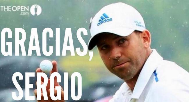 Sergio García Open Championship 2014 - Golf - Gracias Sergio