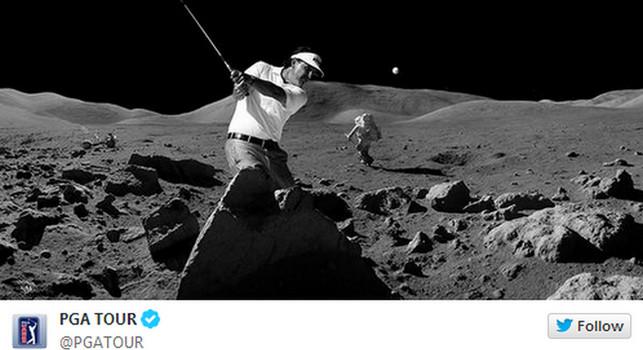 ¿En la luna?
