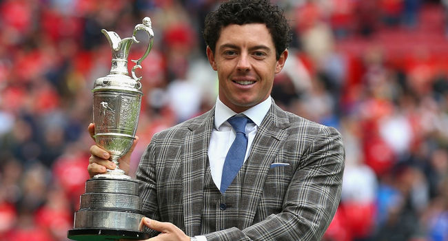 Rory Mcilroy en Old Trafford - Golf - The Open Championship 2014