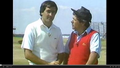 Seve Ballesteros y Lee Treviño - One Club Challenge - Golf Clásico