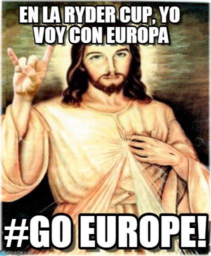 Meme Golf - Ryder Cup - Jesus