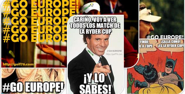 Memes de Golf y la Ryder Cup