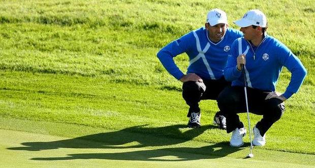 Sergio García Ryder Cup 2014 golf