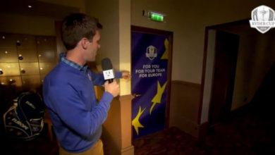 Photo of Los detalles íntimos del vestuario del Equipo Europeo de la Ryder Cup