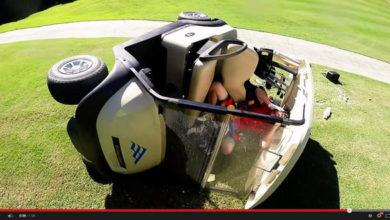 Photo of Por qué no debes hacer el tonto conduciendo un coche de golf