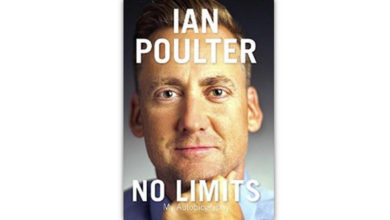 "Photo of ""No Limits: My Autobiography"", el libro de Ian Poulter"
