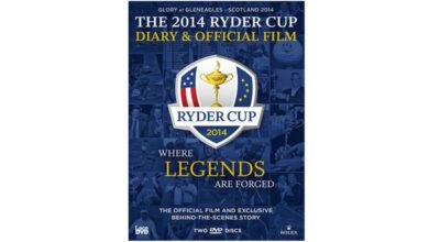 Photo of La película oficial de la Ryder Cup 2014 y el Diario del Capitán en DVD y BluRay