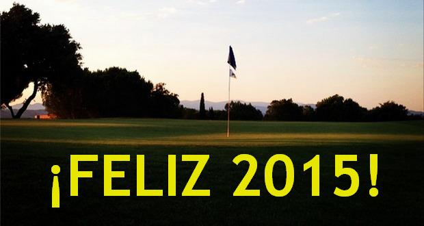 Feliz año 2015 de golf