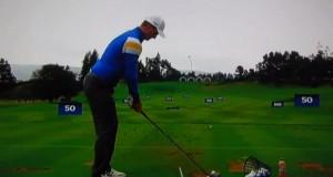 Justin Rose Driver Campo de Prácticas - Golf - Ryder Cup