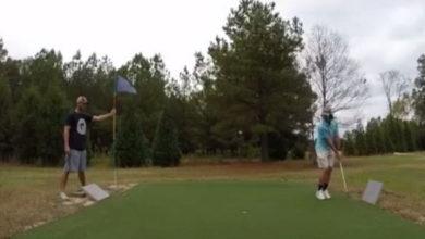 El golf es un deporte de puntería