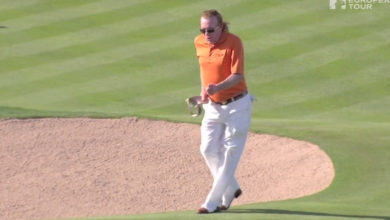 Hoyo en uno - Miguel Angel Jimenez - Golf - Moonwalker