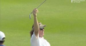 Miguel Angel Jimenez es el puto amo del golf