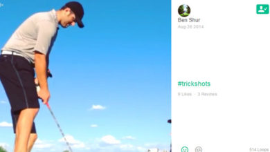 Photo of El trick shot de Jon Rahm con su caddy Ben Shur