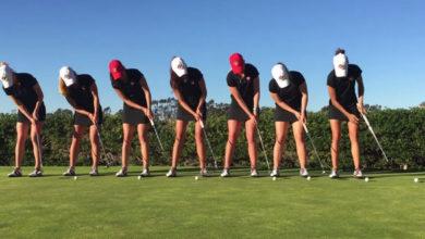 Trucos de golf Equipo femenino Universidad de San Diego State