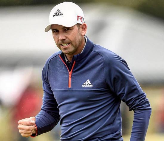 Sergio García Open Golf 2015