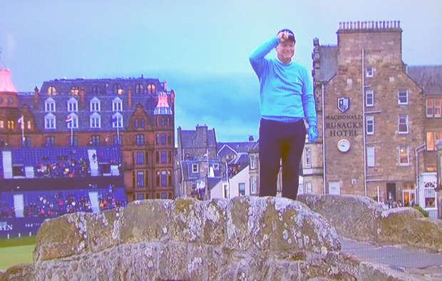 Tom Watson Open Swilcan golf Saint Andrews