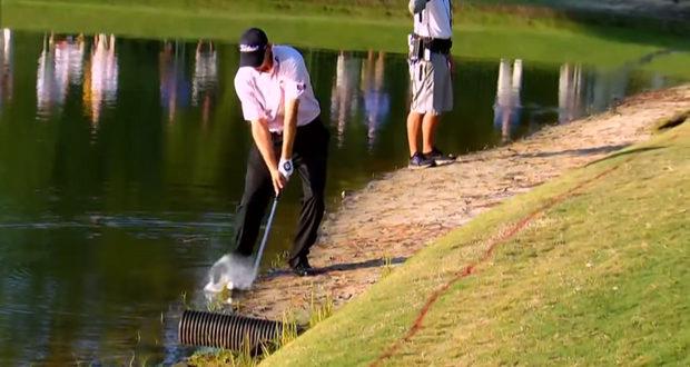 Vídeo de golpes de golf complicados
