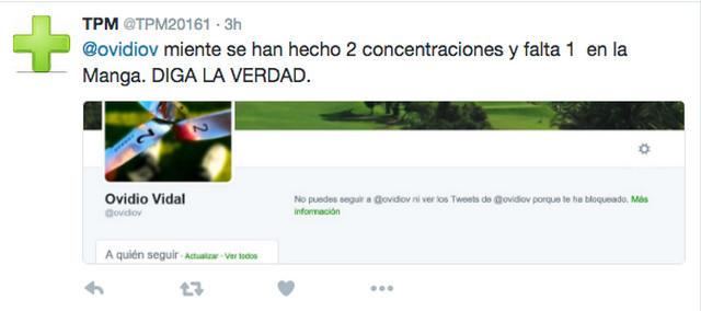 Troll Twitter – Federación Canaria de Golf