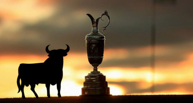 Victoria Española en el el Open Championship - Golf