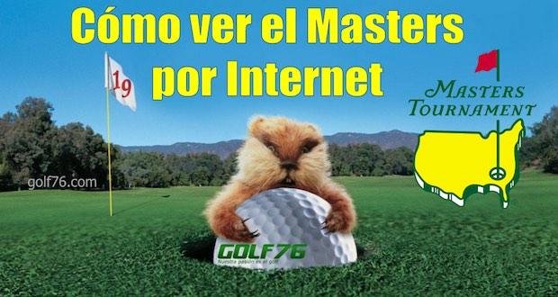 Cómo ver el Masters de Augusta por Internet