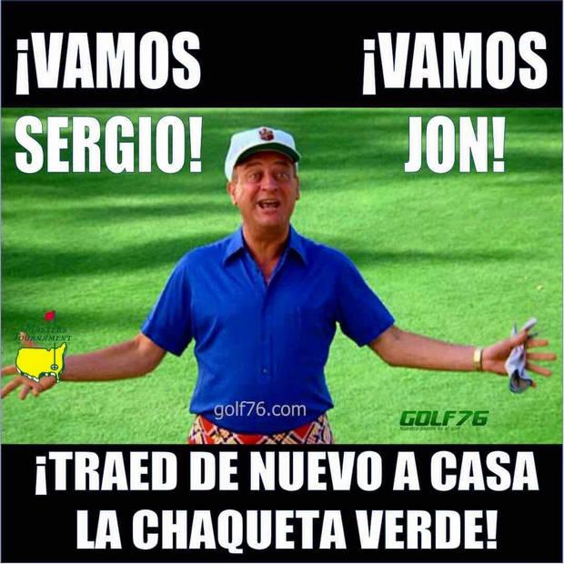 Memes de Golf Masters Caddyshack Golf76com