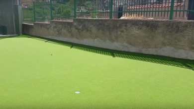 Photo of Historia de un green de golf en el colegio de Brea de Tajo