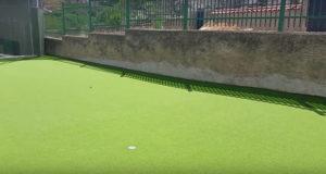 Golf en el colegio Brea de Tajo