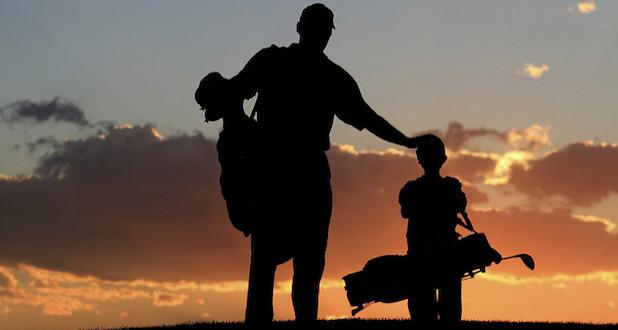 Golf en familia